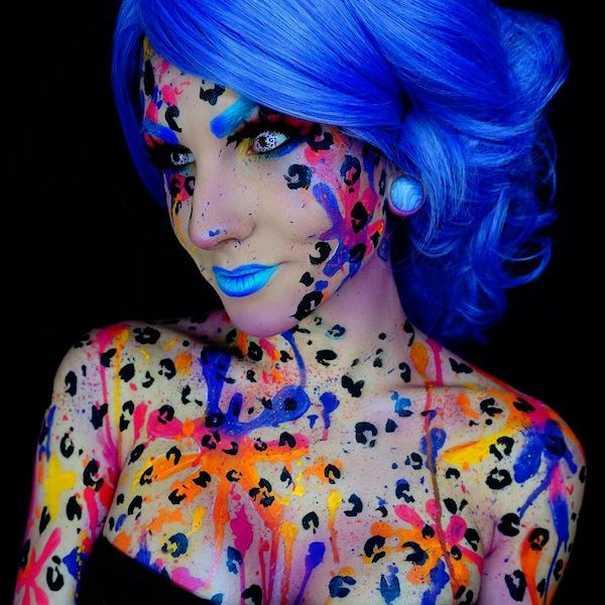 Οι ανατριχιαστικές μεταμορφώσεις της makeup artist Corie Lynn (8)