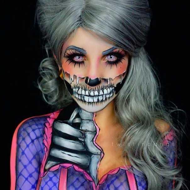 Οι ανατριχιαστικές μεταμορφώσεις της makeup artist Corie Lynn (9)