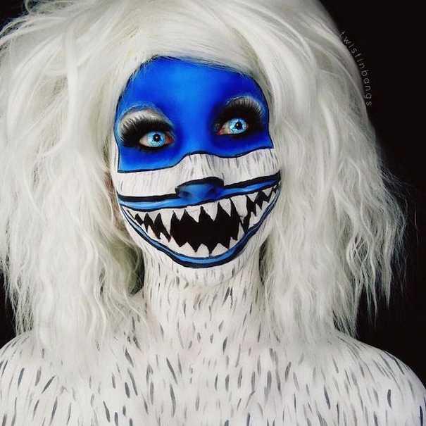 Οι ανατριχιαστικές μεταμορφώσεις της makeup artist Corie Lynn (16)