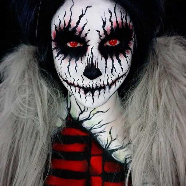 Οι ανατριχιαστικές μεταμορφώσεις της makeup artist Corie Lynn (21)