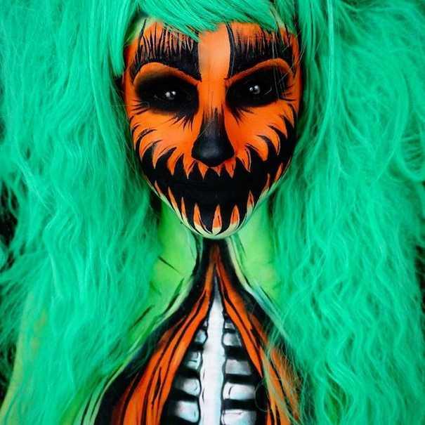 Οι ανατριχιαστικές μεταμορφώσεις της makeup artist Corie Lynn (22)