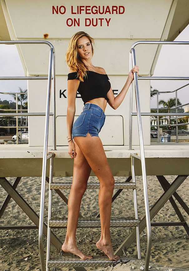 Chase Kennedy: Το μοντέλο με τα μακρύτερα πόδια στις ΗΠΑ (2)