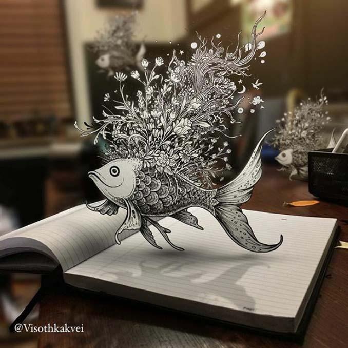 Εκπληκτικά 3D σκίτσα που έχουν περάσει σε άλλο επίπεδο (18)