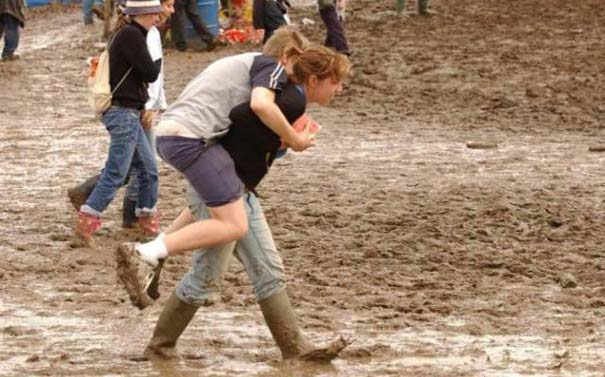 Glastonbury: Φεστιβάλ στις λάσπες (20)