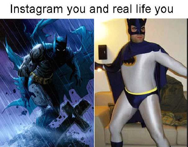 Instagram vs Πραγματικότητα - 24 ξεκαρδιστικές διαφορές (2)