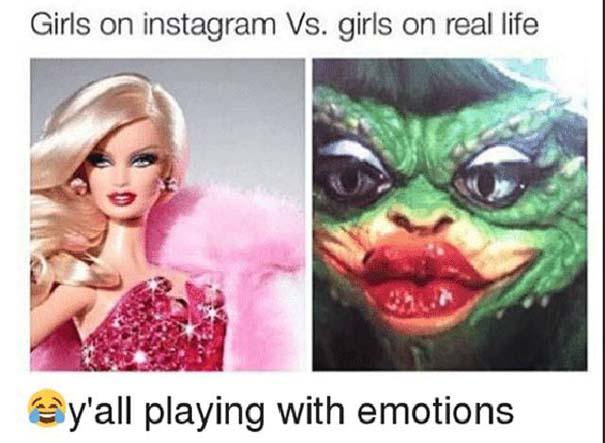 Instagram vs Πραγματικότητα - 24 ξεκαρδιστικές διαφορές (12)