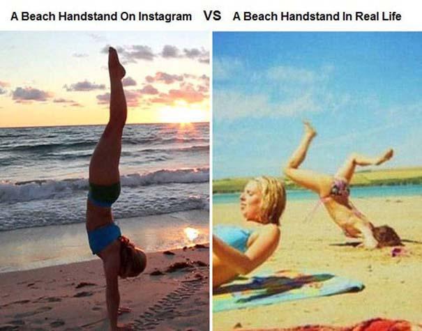 Instagram vs Πραγματικότητα - 24 ξεκαρδιστικές διαφορές (13)