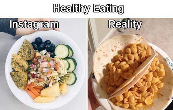 Instagram vs Πραγματικότητα - 24 ξεκαρδιστικές διαφορές (14)
