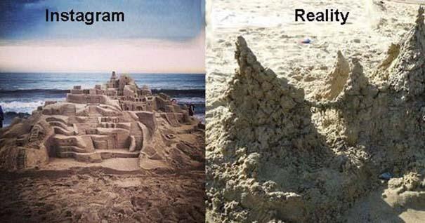 Instagram vs Πραγματικότητα - 24 ξεκαρδιστικές διαφορές (16)