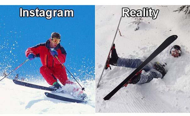 Instagram vs Πραγματικότητα - 24 ξεκαρδιστικές διαφορές (18)
