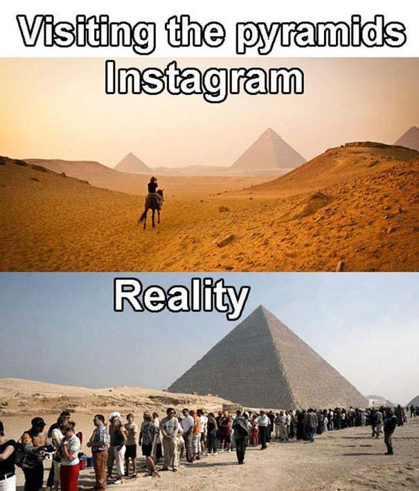 Instagram vs Πραγματικότητα - 24 ξεκαρδιστικές διαφορές (24)