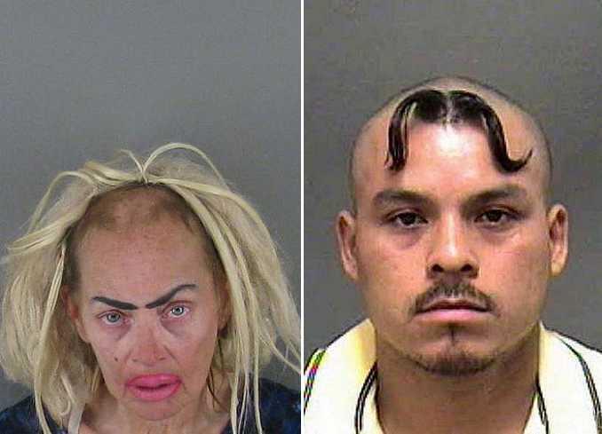 Οι κομμώσεις σε αυτές τις φωτογραφίες συλληφθέντων είναι πράγματι εγκληματικές! (1)