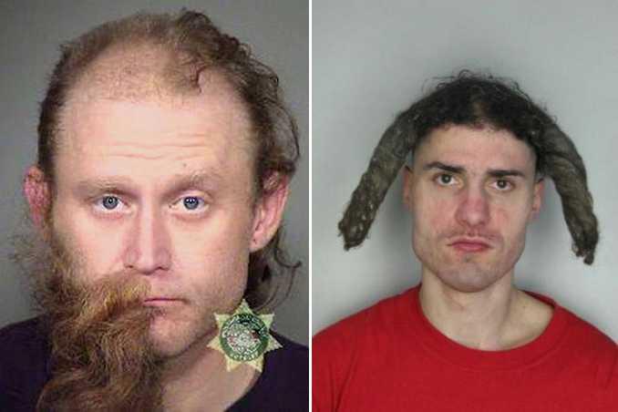 Οι κομμώσεις σε αυτές τις φωτογραφίες συλληφθέντων είναι πράγματι εγκληματικές! (2)