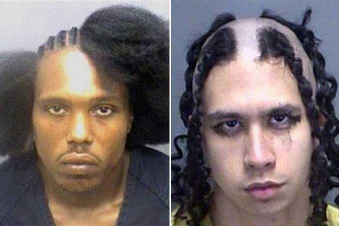 Οι κομμώσεις σε αυτές τις φωτογραφίες συλληφθέντων είναι πράγματι εγκληματικές! (8)