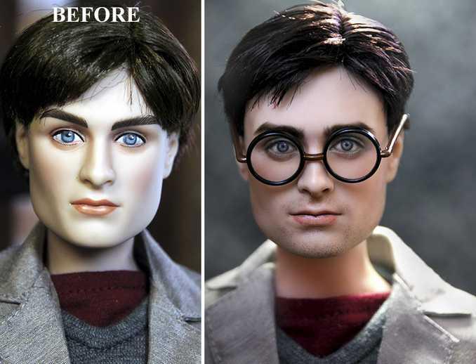 Κούκλες διασήμων ξαναβάφονται για να γίνουν πιο ρεαλιστικές και το αποτέλεσμα είναι εκπληκτικό! (4)