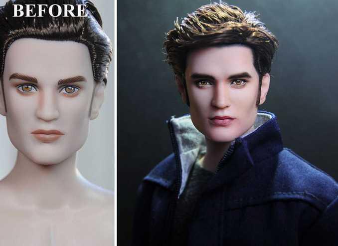 Κούκλες διασήμων ξαναβάφονται για να γίνουν πιο ρεαλιστικές και το αποτέλεσμα είναι εκπληκτικό! (5)