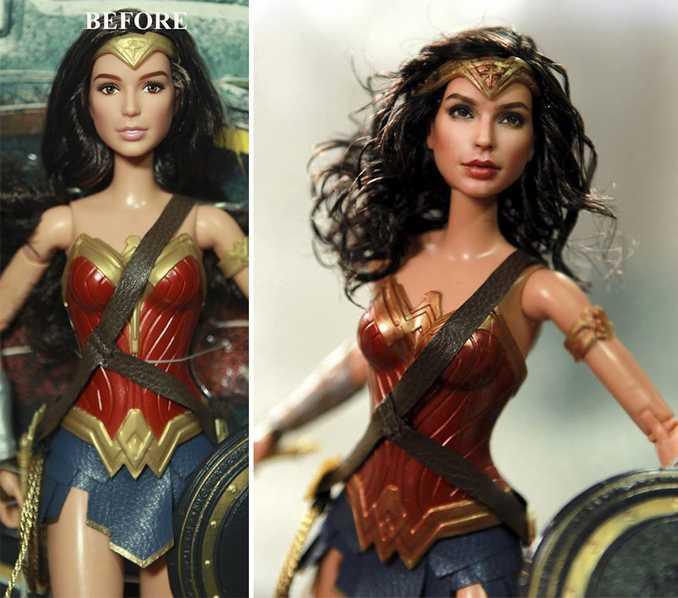 Κούκλες διασήμων ξαναβάφονται για να γίνουν πιο ρεαλιστικές και το αποτέλεσμα είναι εκπληκτικό! (7)
