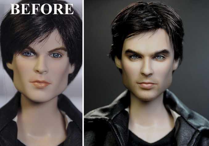 Κούκλες διασήμων ξαναβάφονται για να γίνουν πιο ρεαλιστικές και το αποτέλεσμα είναι εκπληκτικό! (8)