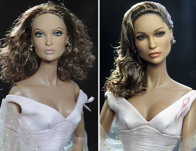Κούκλες διασήμων ξαναβάφονται για να γίνουν πιο ρεαλιστικές και το αποτέλεσμα είναι εκπληκτικό! (11)