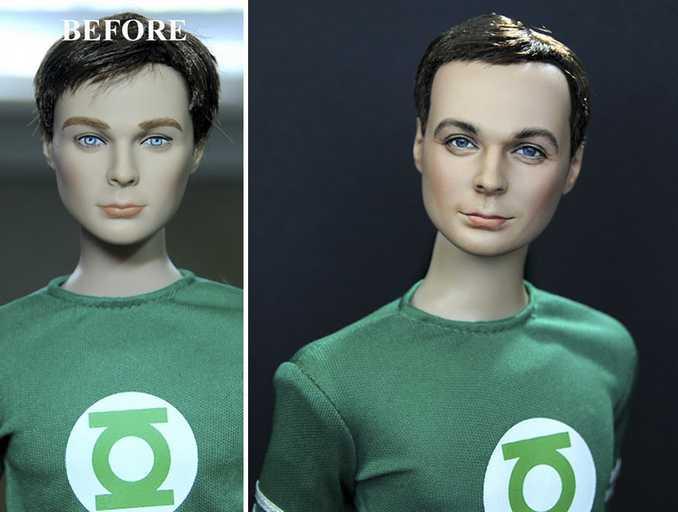 Κούκλες διασήμων ξαναβάφονται για να γίνουν πιο ρεαλιστικές και το αποτέλεσμα είναι εκπληκτικό! (12)
