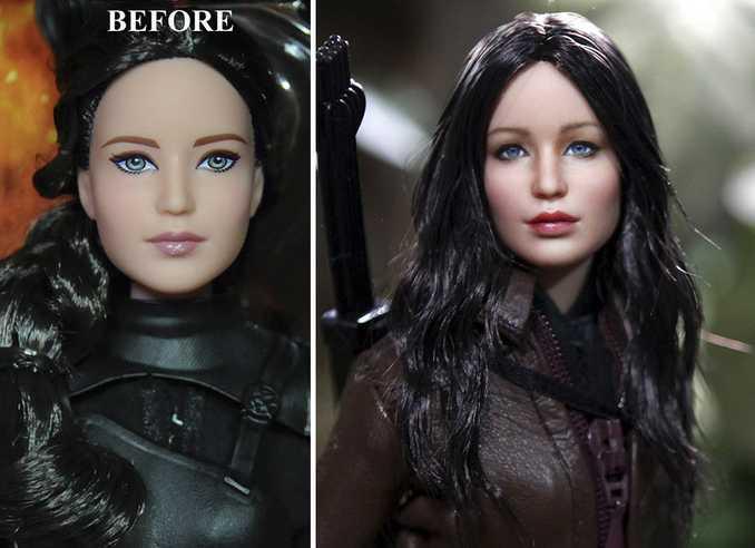 Κούκλες διασήμων ξαναβάφονται για να γίνουν πιο ρεαλιστικές και το αποτέλεσμα είναι εκπληκτικό! (15)