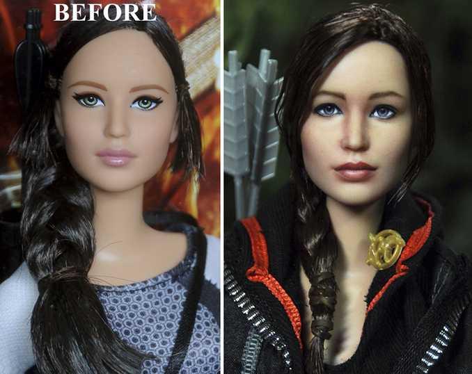 Κούκλες διασήμων ξαναβάφονται για να γίνουν πιο ρεαλιστικές και το αποτέλεσμα είναι εκπληκτικό! (16)