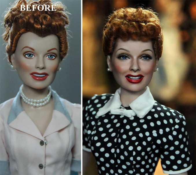 Κούκλες διασήμων ξαναβάφονται για να γίνουν πιο ρεαλιστικές και το αποτέλεσμα είναι εκπληκτικό! (18)