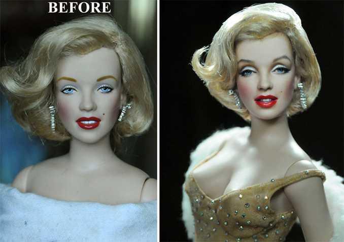 Κούκλες διασήμων ξαναβάφονται για να γίνουν πιο ρεαλιστικές και το αποτέλεσμα είναι εκπληκτικό! (19)