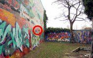 Ξεφλουδίζοντας έναν τοίχο με γκράφιτι 30 ετών