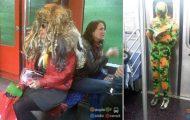 Παράξενες και κωμικοτραγικές φωτογραφίες στα μέσα μεταφοράς #24