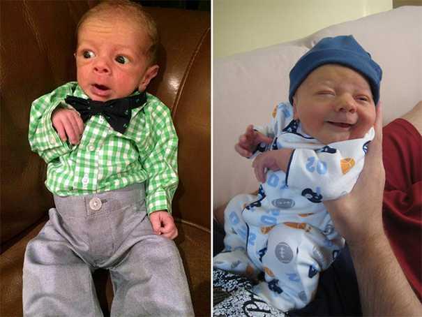 Μωρά που μεγαλοδείχνουν (8)