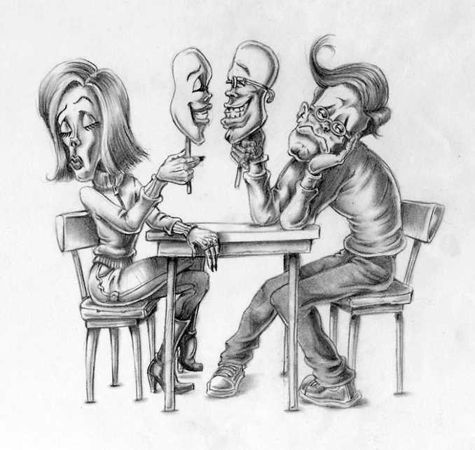 Τα στραβά της σημερινής κοινωνίας μέσα από σατιρικά σκίτσα (1)