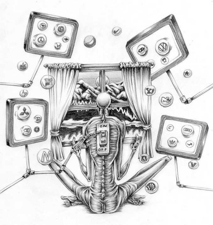 Τα στραβά της σημερινής κοινωνίας μέσα από σατιρικά σκίτσα (6)
