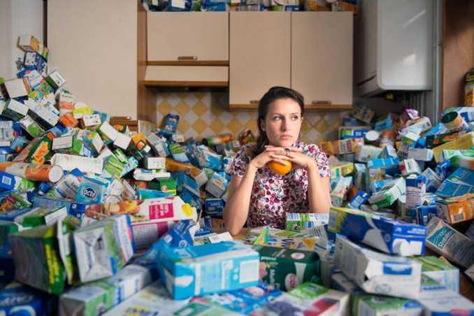 Φωτογράφος δείχνει τι θα συνέβαινε αν για 4 χρόνια δεν πετούσατε τα σκουπίδια σας (4)