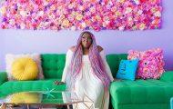 Αυτή η γυναίκα έχει ίσως το πιο πολύχρωμο διαμέρισμα που έχετε δει (6)