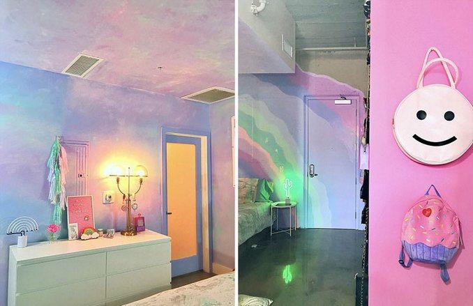 Αυτή η γυναίκα έχει ίσως το πιο πολύχρωμο διαμέρισμα που έχετε δει (11)