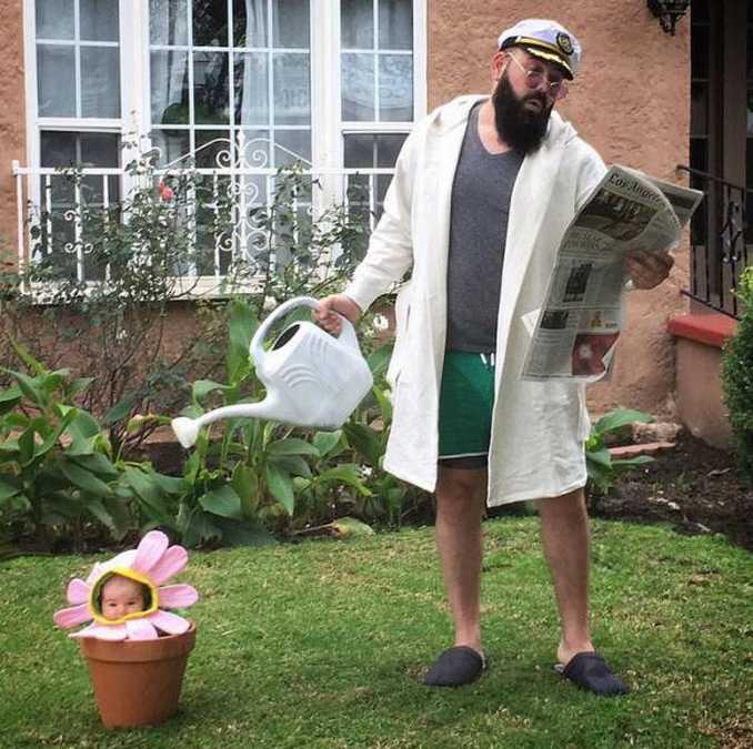 Τρελός μπαμπάς και η 9 μηνών κόρη του σε ξεκαρδιστικές φωτογραφίες (5)