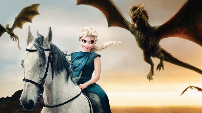 Αν οι χαρακτήρες της Disney έπαιζαν στο Game of Thrones (1)
