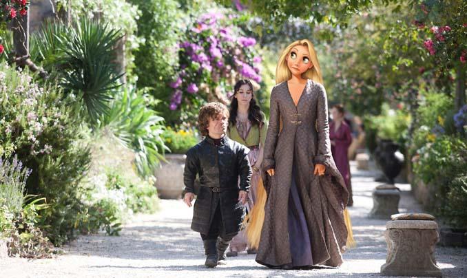 Αν οι χαρακτήρες της Disney έπαιζαν στο Game of Thrones (2)