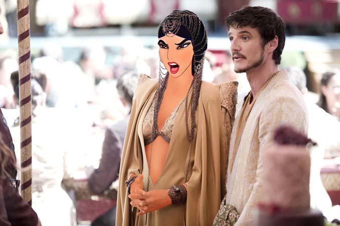 Αν οι χαρακτήρες της Disney έπαιζαν στο Game of Thrones (3)
