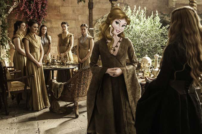 Αν οι χαρακτήρες της Disney έπαιζαν στο Game of Thrones (5)