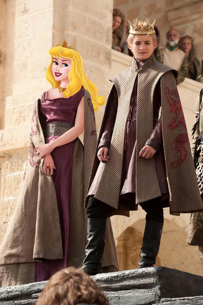 Αν οι χαρακτήρες της Disney έπαιζαν στο Game of Thrones (6)