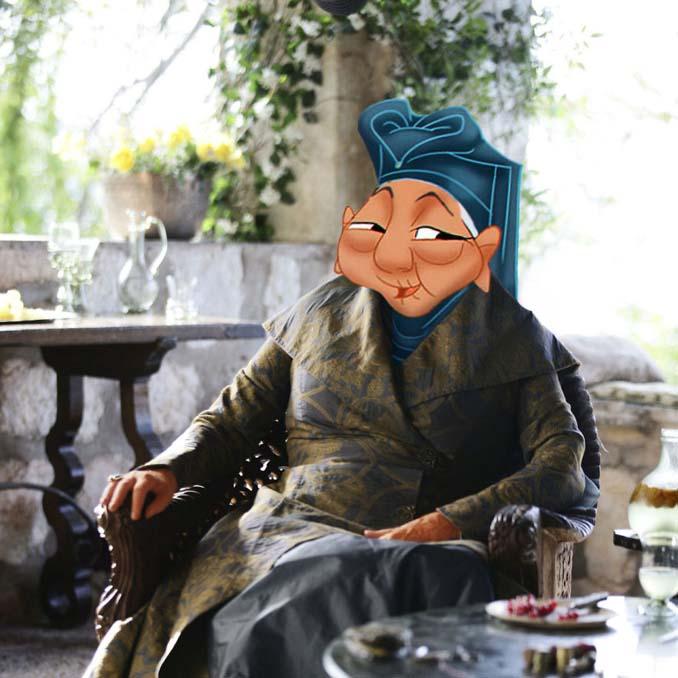 Αν οι χαρακτήρες της Disney έπαιζαν στο Game of Thrones (9)