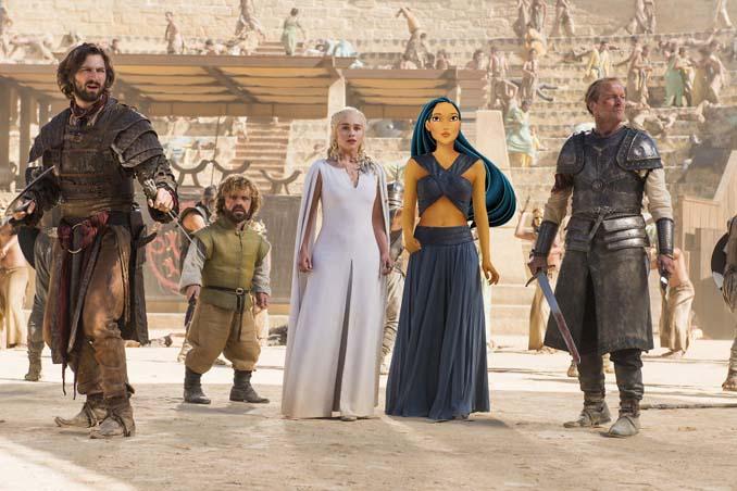 Αν οι χαρακτήρες της Disney έπαιζαν στο Game of Thrones (10)