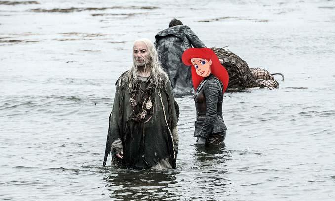 Αν οι χαρακτήρες της Disney έπαιζαν στο Game of Thrones (11)