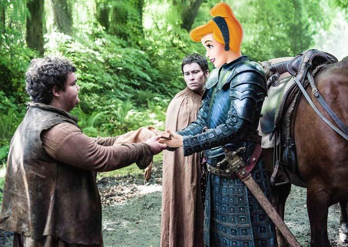 Αν οι χαρακτήρες της Disney έπαιζαν στο Game of Thrones (14)