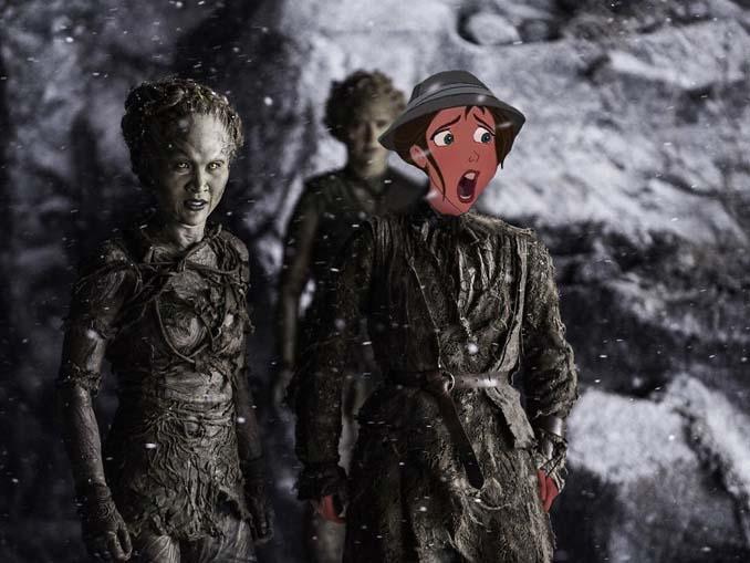 Αν οι χαρακτήρες της Disney έπαιζαν στο Game of Thrones (15)