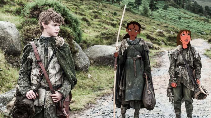 Αν οι χαρακτήρες της Disney έπαιζαν στο Game of Thrones (16)