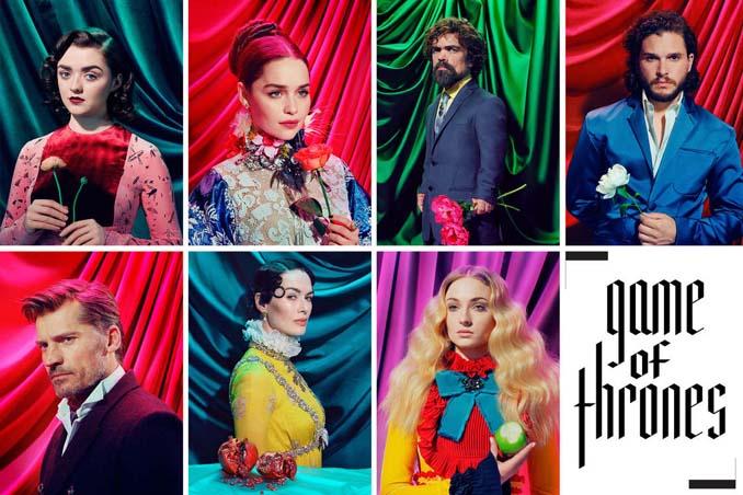 Game of Thrones: Οι χαρακτήρες της σειράς σε μια ψυχεδελική φωτογράφιση (9)