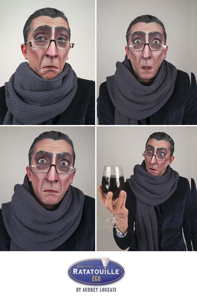 Make up artist μεταμορφώνει ανθρώπους σε κακούς της Disney χρησιμοποιώντας το μακιγιάζ (2)